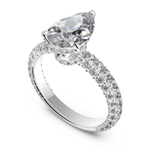 Pear Cut Engagement Ring Montreal
