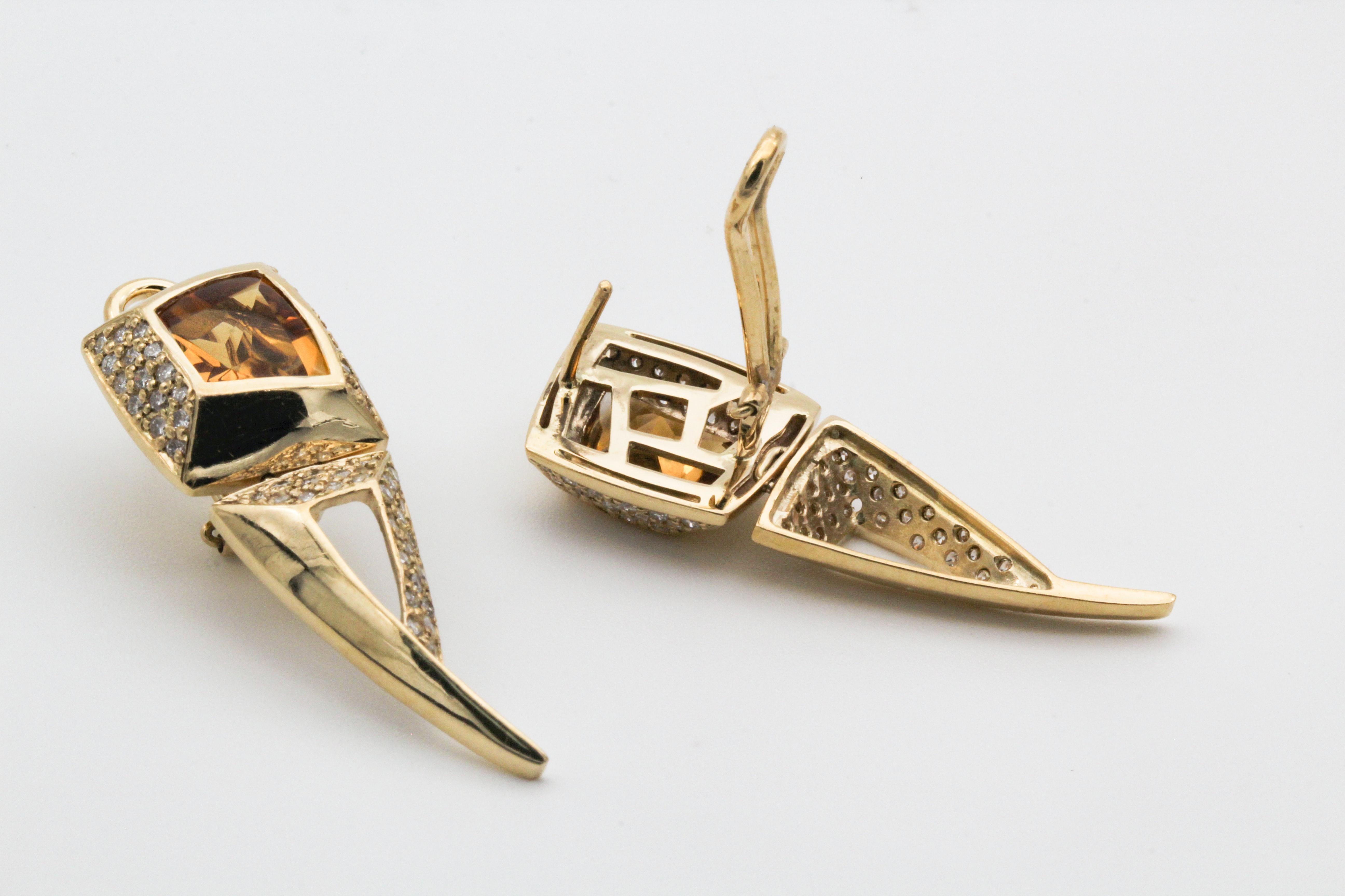 gold earrings new trend in 2020