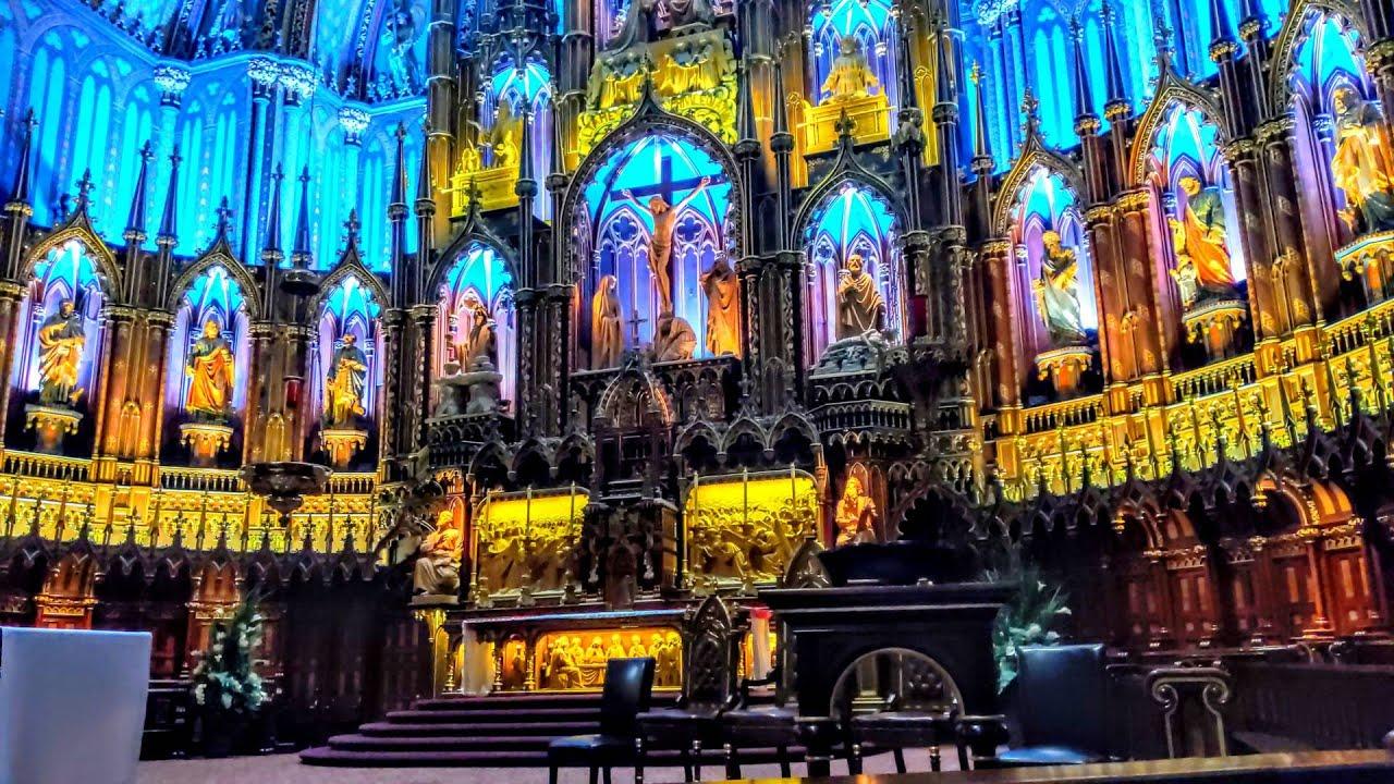notre dame basilica beautiful scenery romantic